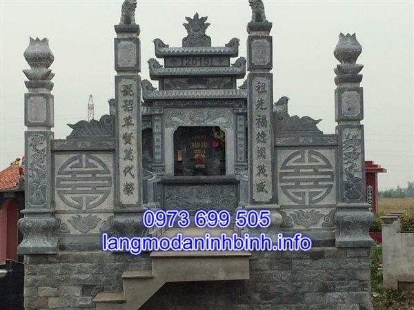 Mẫu cổng đá nghĩa trang đẹp chất lượng cao giá rẻ;