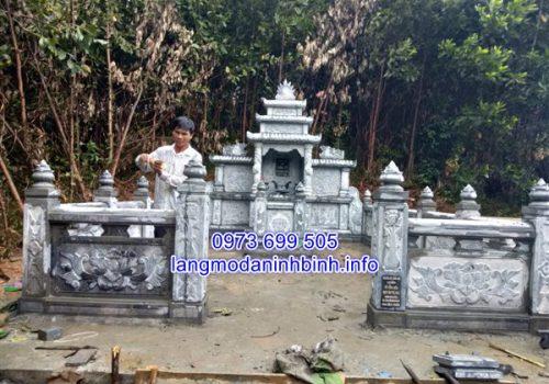 Thiết kế thi công lắp đặt khu lăng mộ đá tại Đà Nẵng;