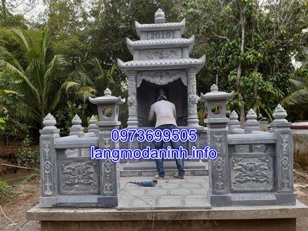 Lắp đặt lăng mộ đá tại huyện Tam Bình tỉnh Vĩnh Long