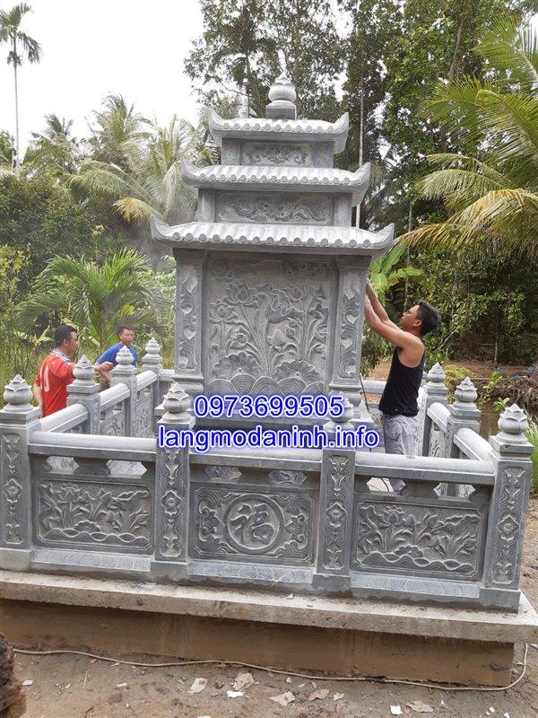 Lắp đặt lăng mộ đá tại huyện Tam Bình tỉnh Vĩnh Long 03;