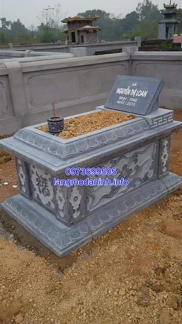 Mẫu mộ tam sơn đá đẹp nhất hiện nay