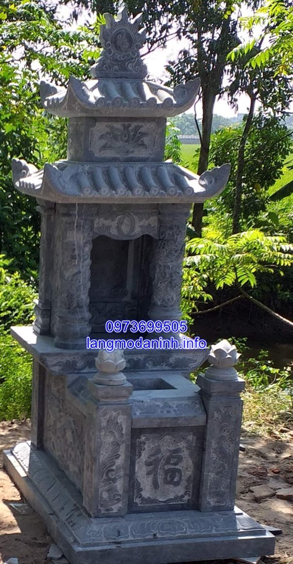 các mẫu mộ đá đẹp chạm khắc hoa văn tinh tế 22