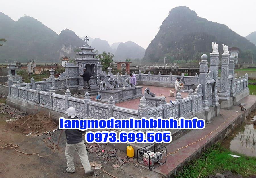 Địa chỉ thiết kế khu mộ gia đình đẹp nhất hiện nay