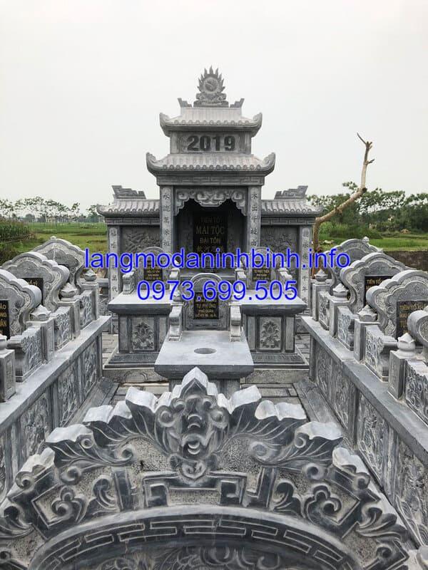 Cơ sở chế tác khu lăng mộ uy tín, chất lương