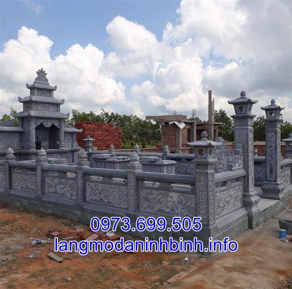 Sản phẩm cần bán: Mẫu lăng mộ đá đẹp thiết kế cao cấp bán tại Hải Dương 01 Khu-lang-mo-da-dep-lap-dat-tai-Hai-Duong