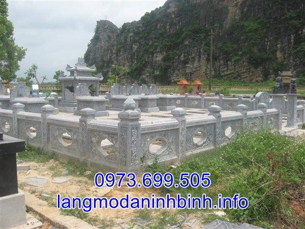 Lắp đặt lăng mộ đá gia đình tại Hà Nam;