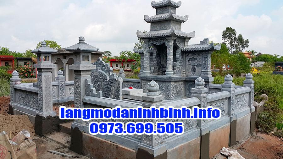 Thiết kế lăng mộ gia đình