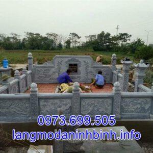 Xây lắp lăng mộ đá tại Bắc Ninh