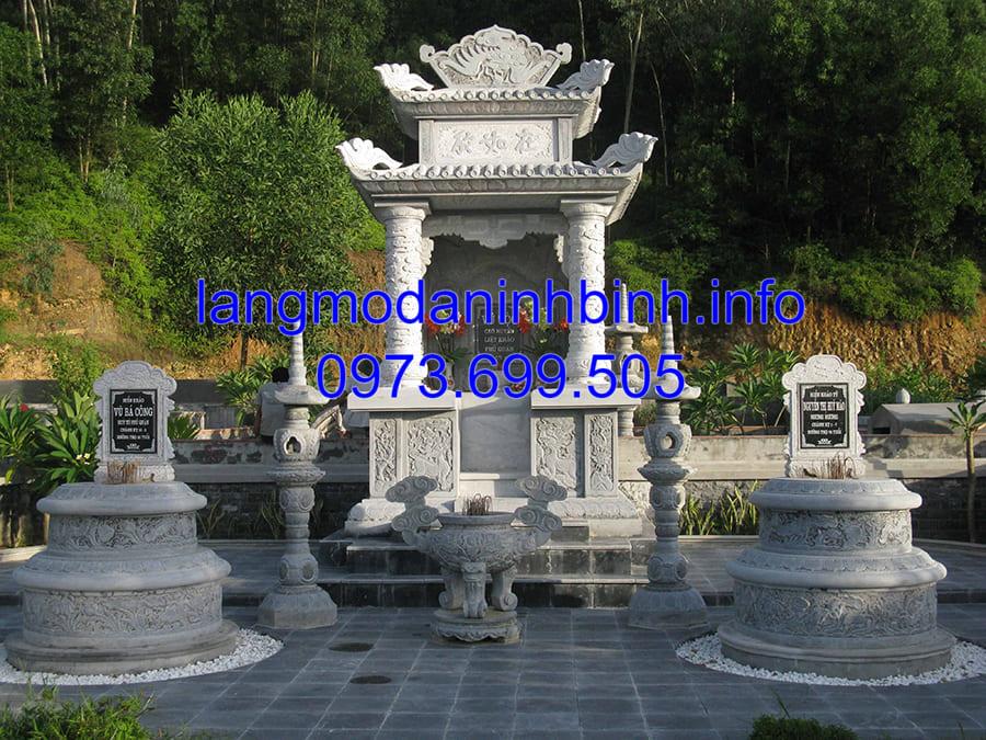 Địa chỉ bán lăng mộ đá đẹp tại Ninh Vân