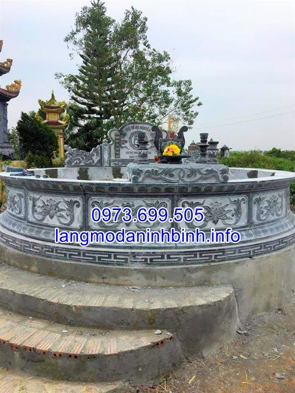 Mẫu mộ đẹp nhất hiện nay đươc chế tác tại Ninh Vân Ninh Bình