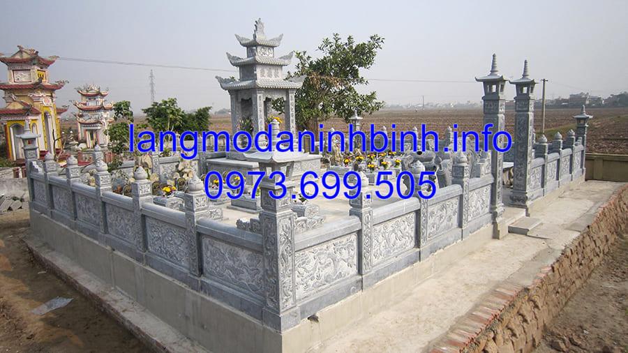 Cơ sở bán lăng mộ đá đẹp nhất tại Ninh Vân