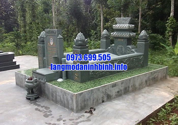 Cơ sở chế tác lăng mộ xanh rêu chất lượng tại Ninh Vân