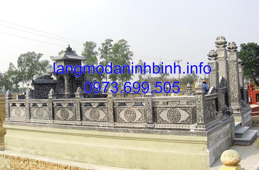 Cơ sở thiết kế xây dựng lăng mộ đá đẹp nhất Ninh Vân