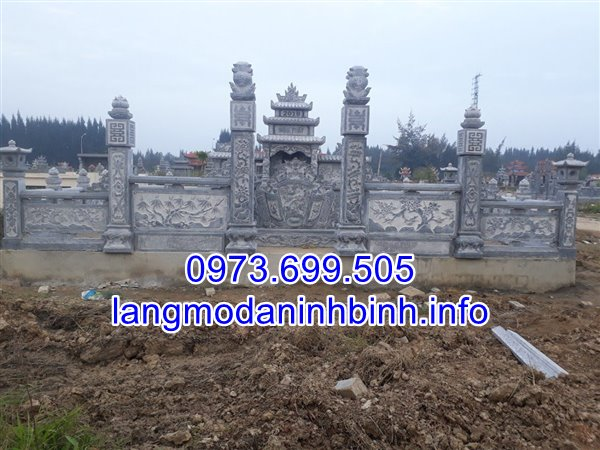 Địa chỉ chế tác các mẫu lăng mộ đá gia tộc uy tín chất lượng nhất tại Ninh Vân Ninh Bình;