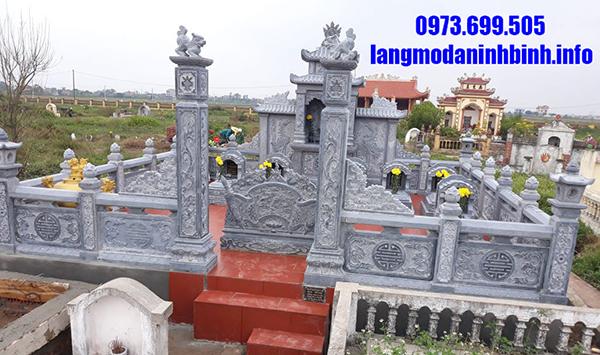 Địa chỉ xây dựng khu lăng mộ gia đình đẹp