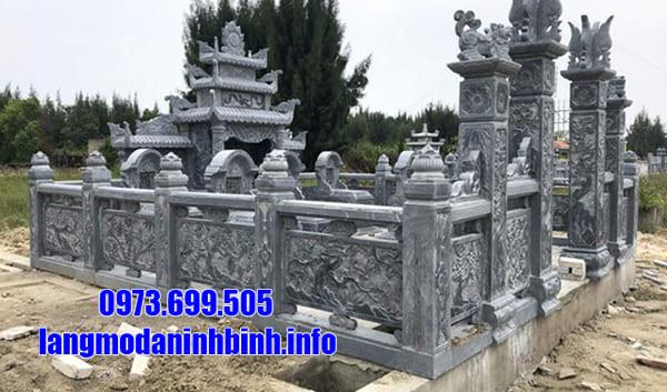 Mẫu khuôn viên nghĩa trang gia đình