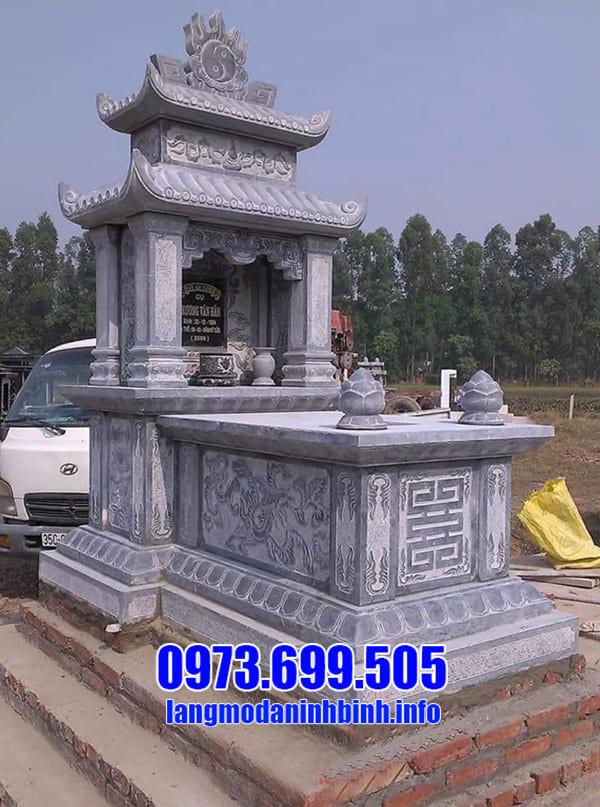 Địa chỉ bán lăng mộ đá hai mái uy tín tại Ninh Vân