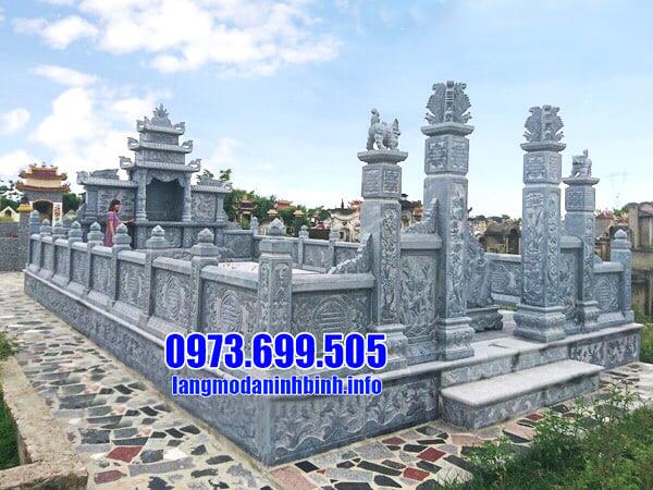 Địa chỉ lắp đặt lăng mộ đá uy tín tại Ninh Vân