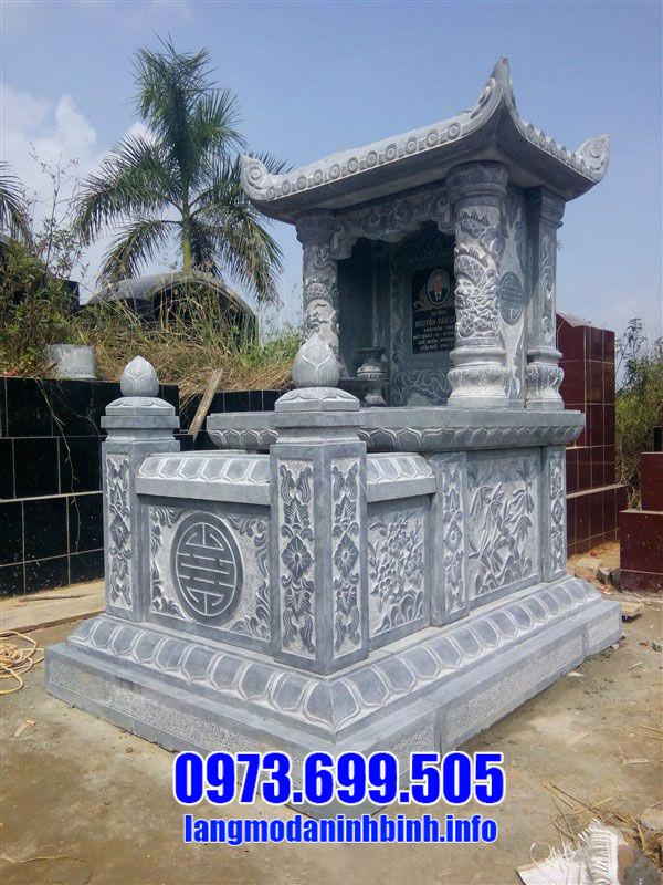 Cơ sở chạm khắc lăng mộ đá 1 mái Ninh Vân