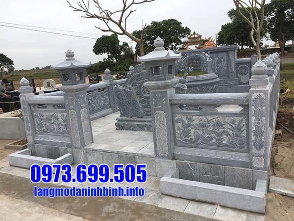 Cơ sở lắp đặt lăng mộ đá tại Ninh Vân