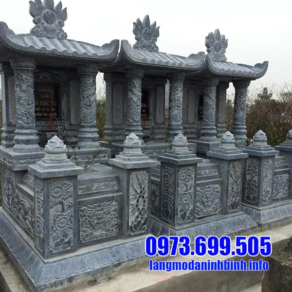 Giá thành lăng mộ đá 1 mái tại Ninh Vân