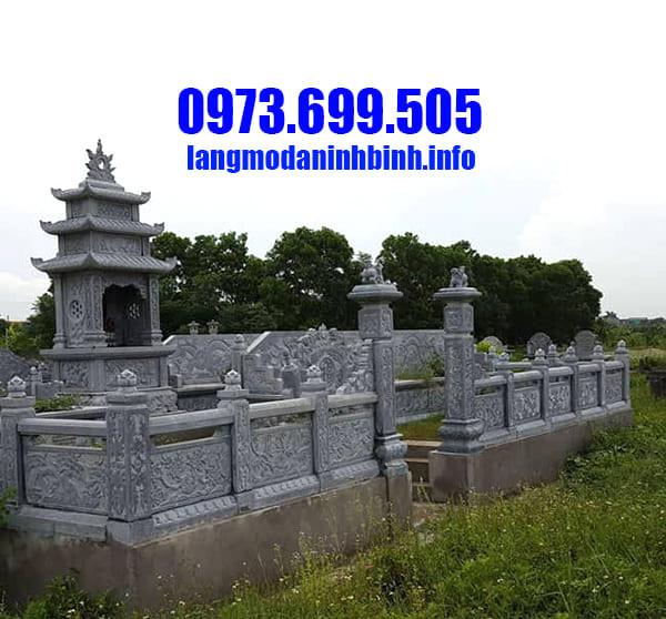 Lăng mộ đá đẹp tại Ninh Vân