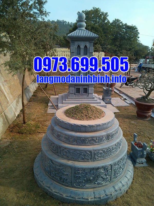Mộ tròn đá xanh tại Thanh Hóa