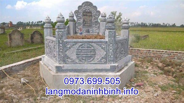 Mẫu mộ lục giác bằng đá đẹp bán trên toàn quốc