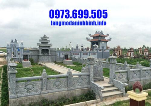 Những mẫu lăng mộ đá Ninh Vân đang được ưa chuộng