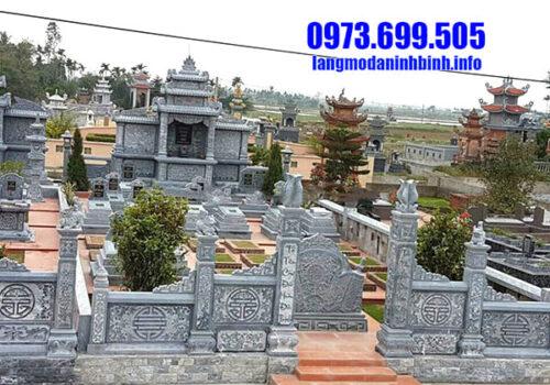 Lăng mộ đá mỹ nghệ Ninh Vân