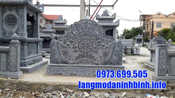 Bình phong lăng mộ đá
