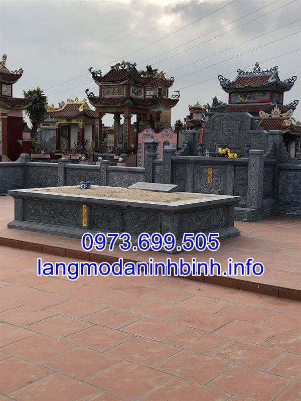Tốp 30 mẫu mộ ông tổ bằng đá khối đẹp chế tác tại Ninh Vân Ninh Bình