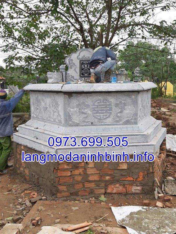 Báo giá xây mộ tổ bằng đá chính xác nhấ tại Ninh Bình