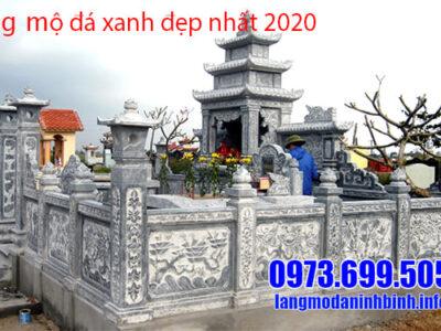 Lăng mộ bằng đá xanh đẹp nhất 2020