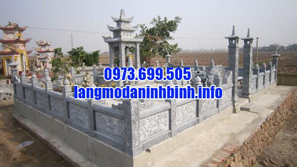 Mẫu lăng mộ đá đẹp tại Thanh Hóa