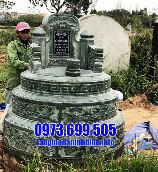 Mộ đá xanh rêu đẹp tại Thanh Hóa