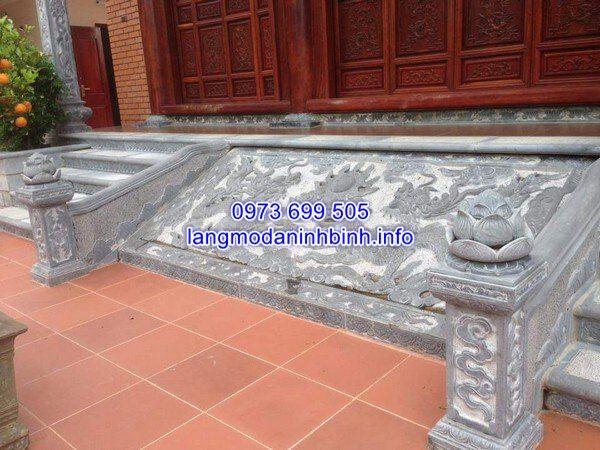 Các mẫu chiếu rồng đá đẹp được chế tác tại Ninh Vân, Ninh Bình