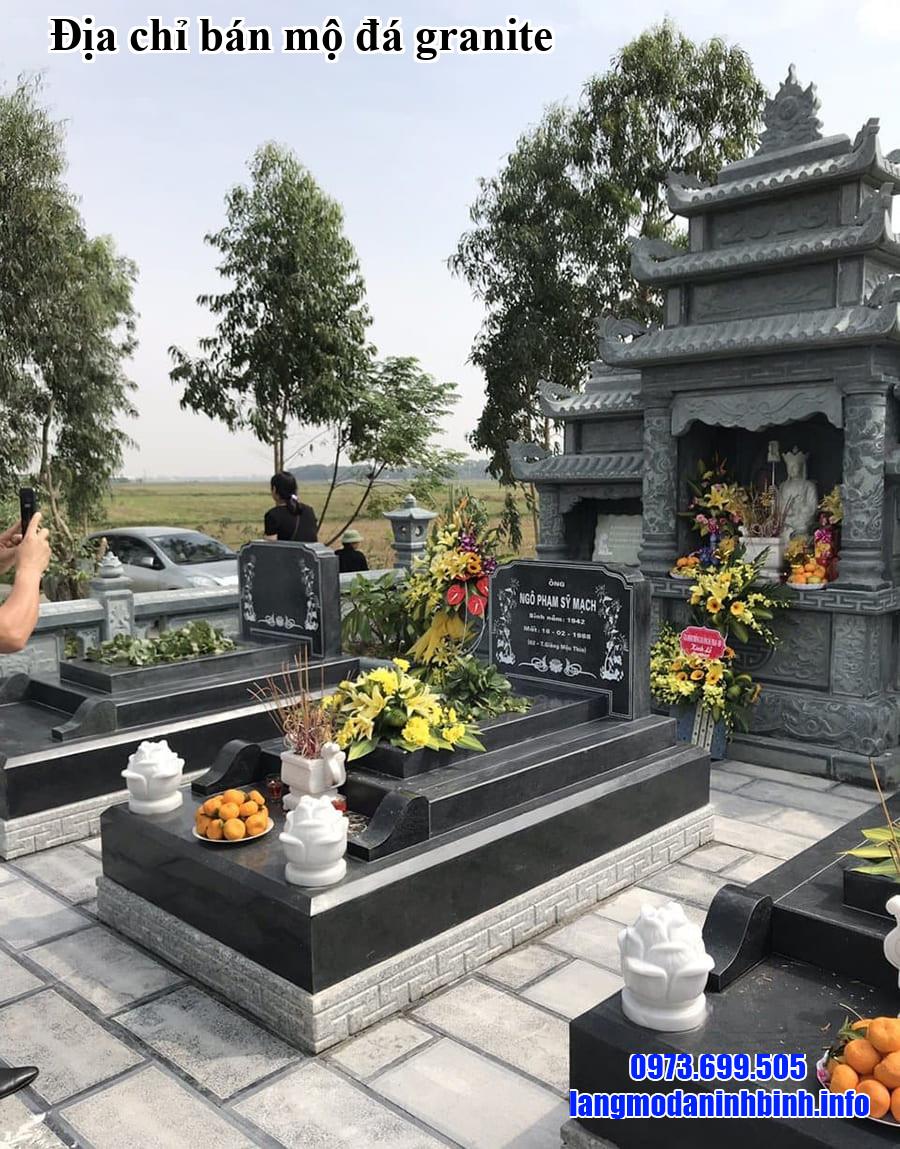 Địa chỉ bán mộ đá granite
