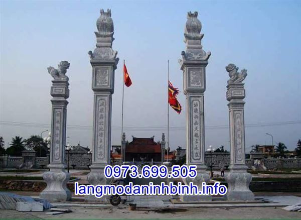 Báo giá cổng đá - cổng làng bằng đá chính xác nhất tại Ninh Bình