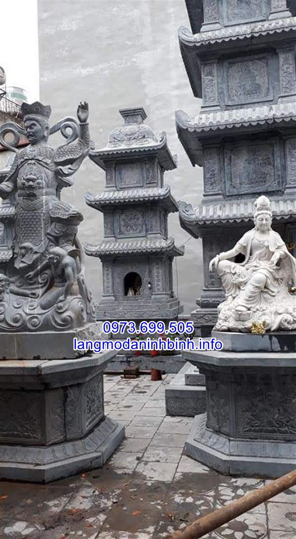 Báo giá mộ tháp phật giáo bằng đá chính xác nhất tại Ninh Vân Ninh Bình