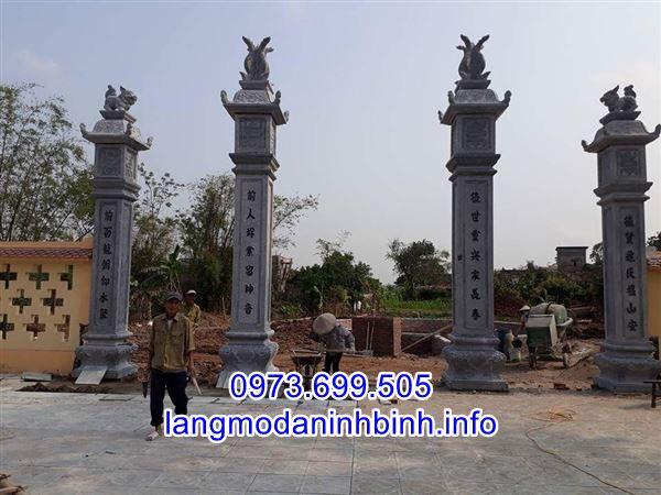 Địa chỉ bán các mẫu cổng đá uy tín chất lượng tai Ninh Bình;