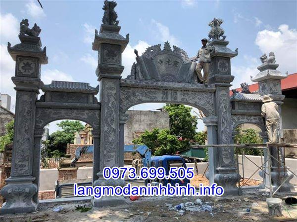 Địa chỉ chế tác và bán mẫu cổng làng bằng đá uy tín chất lượng nhất hiện nay;