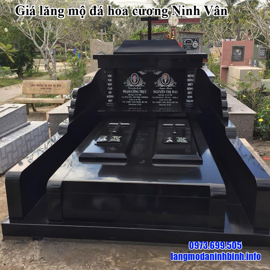 Giá lăng mộ đá hoa cương Ninh Vân