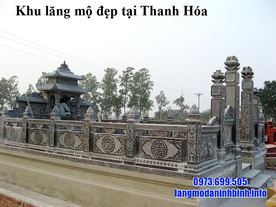 Khu lăng mộ đẹp tại Thanh Hóa