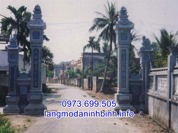 Kích thước cổng làng bằng đá chuẩn phong thủy nhất hiện nay;