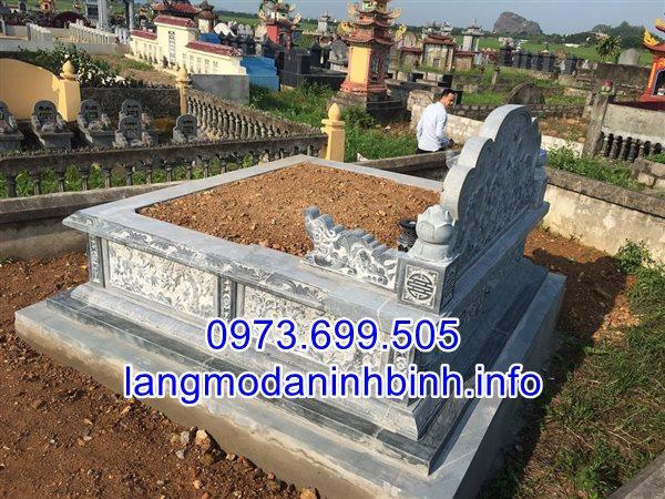 Vì sao nên xây mộ vào dịp tết thanh minh - Các mẫu mộ cải táng bằng đá