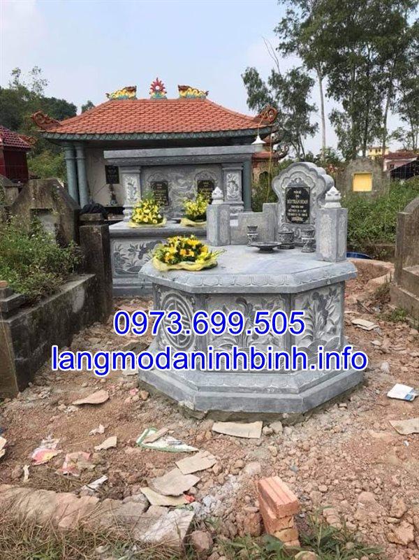 Xây mộ cải táng chuẩn kích thước phong thủy