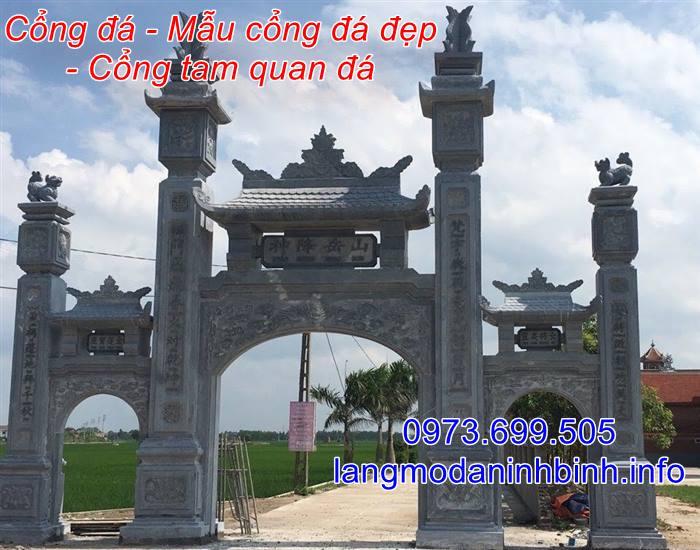 Địa chỉ bán các mẫu cổng bằng đá uy tín chất lượng trên toàn quốc