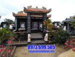 Địa chỉ lắp đặt lăng mộ đá hoa cương tại Ninh Vân
