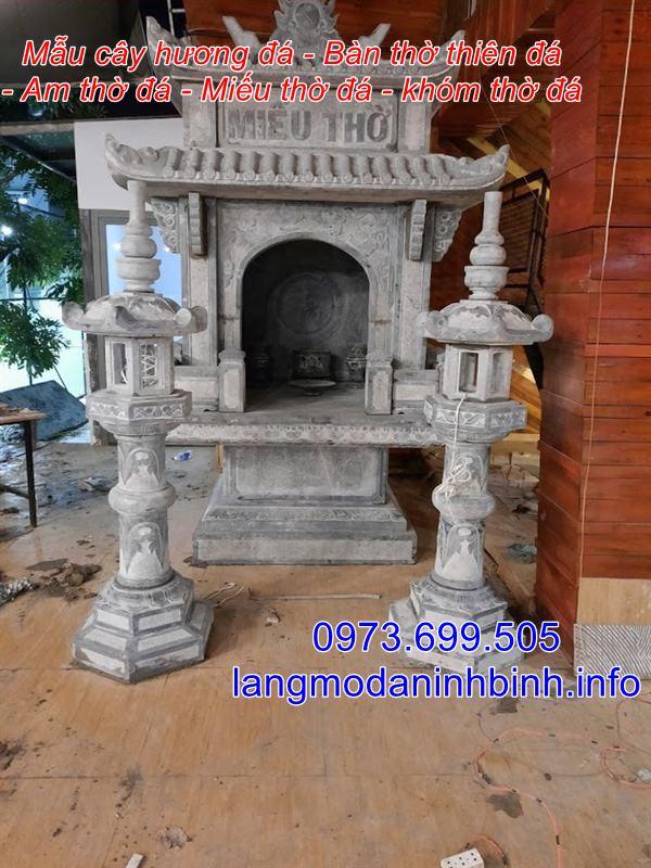 Bàn thờ thiên - Mẫu bàn thờ thiên bằng đá đẹp bán trên toàn quốc